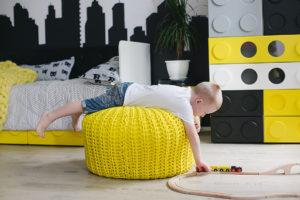 Детский шкаф куб из серии детской мебели Леголенд!