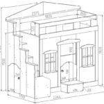 Кровать чердак схема с размерами