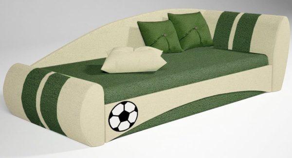 Детский диван кровать Футбол на krowatki!