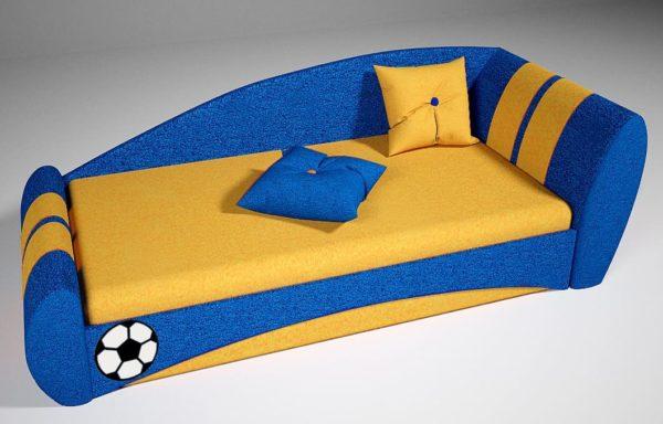 Детский диван кровать футбол