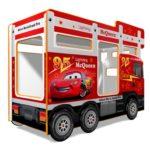 Кровать красный Автобус
