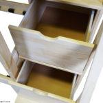 Выдвижные ящики в лестнице - комод двухъярусной кровати