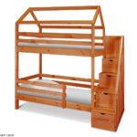 Кроватки двухъярусные детские Домик
