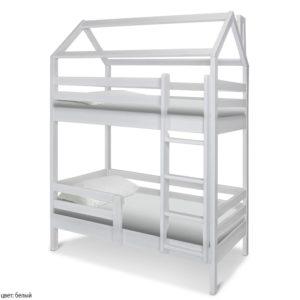 Кровать домик двухэтажный