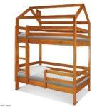 Двухъярусная кровать Домик СПБ