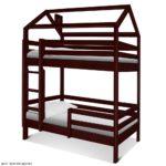 Двухъярусные кровати домики для детей купить