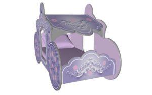 Кровать Карета для девочки фото