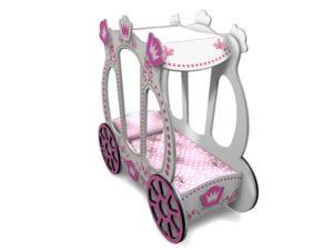 Кровать в виде Кареты для девочки