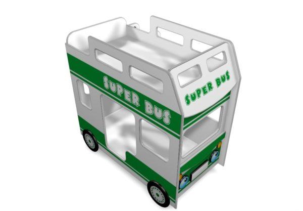 Двухъярусная кровать автобус купить