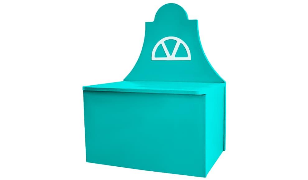 Детский ящик для игрушек в виде домика на Krowatki.ru