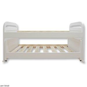 Низкая двухъярусная кровать для детей