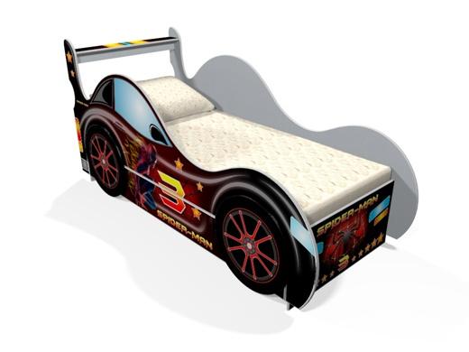 Кровать человек паук для мальчиков