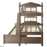трехъярусная кровать выдвижная для детей