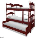 Купить трёхъярусная кровать для троих детей