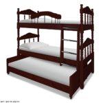 Трёхъярусная кровать для детей! Цена от производителя!