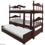 Трёхъярусная кровать для троих детей