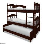 Трёхъярусная кровать для детей купить Москва
