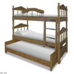 Трёхъярусная кровать для детей купить онлайн!