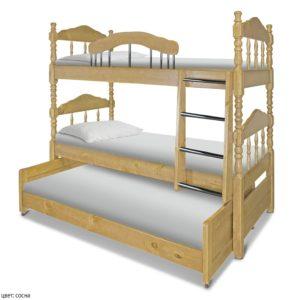 Трёхъярусная кровать для детей в Москве