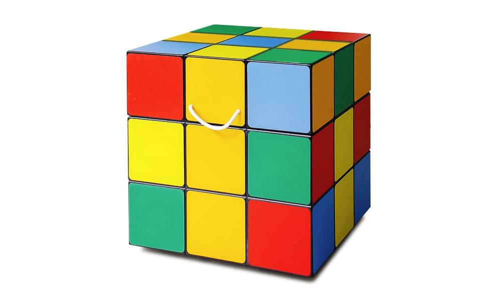 Ящик кубик Рубика для игрушек и не только! Дизайнерская мебель!