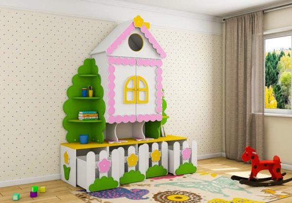 Детский шкаф для одежды www.krowatki.ru