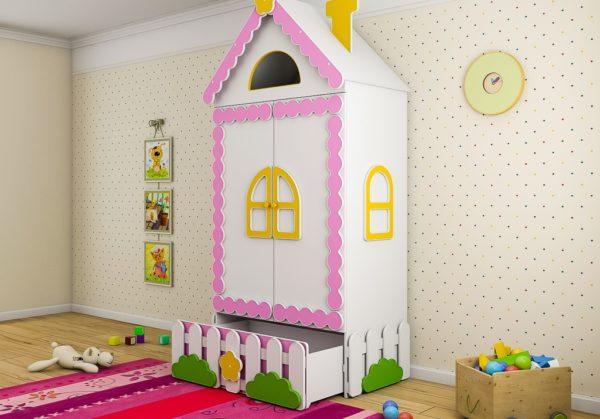Шкаф Теремок для детей. Доставка по РФ