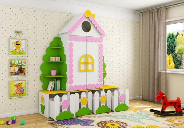Купить шкаф в детскую комнату. Недорого!