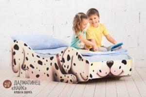 Детские кровати ЗВЕРЯТА, ПТИЦЫ и РЫБЫ