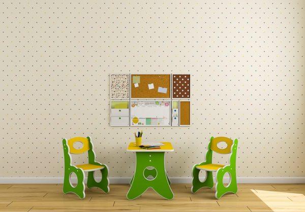 Комплект столик и стульчик всего за 6000р