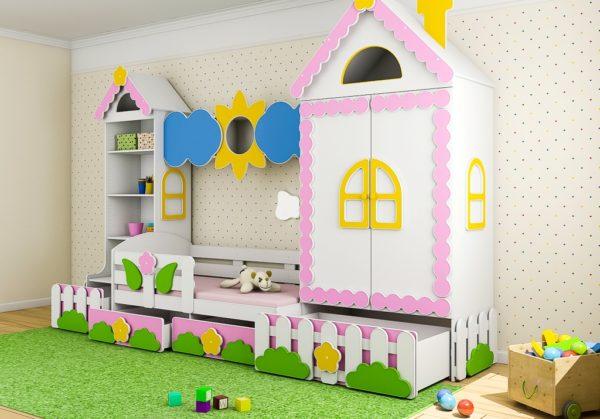 Купить стенку в детскую комнату! Новинка!