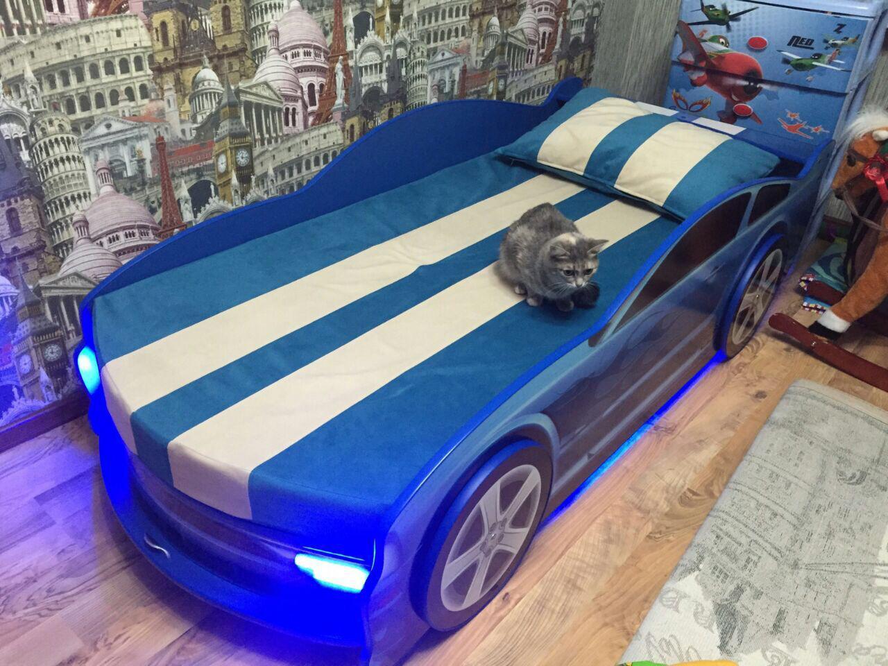 Кровать машинка Мустанг! Распродажа!