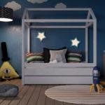 Большой выбор детских кроватей домиков от 3 лет!