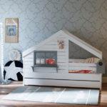 Дизайнерская детская кровать в виде домика купить!