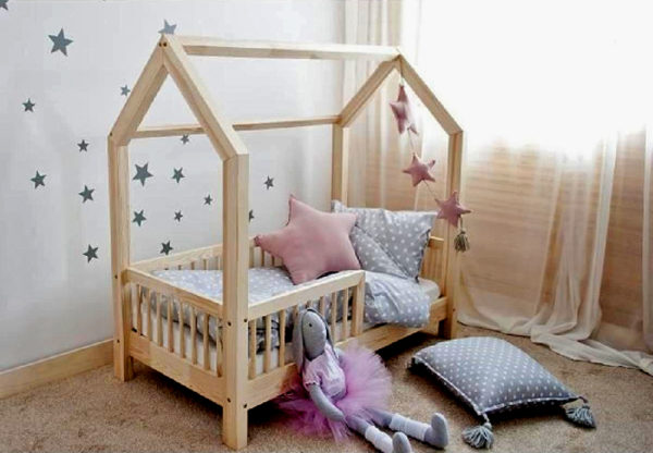Детская кровать домик купить! Фабрика! Доставка по Москве и РФ!