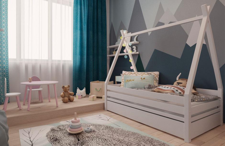Детская кровать домик купить на кроватки.ру