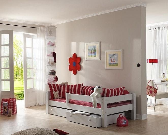 Детская кровать белая с бортиком! Любой размер!