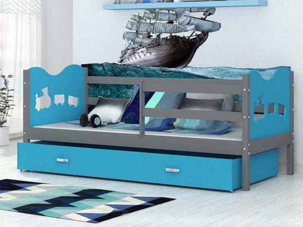 Детская кровать Паровозик в интернет-магазине KROWATKI.RU!