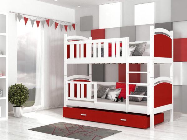 Детские кровати с выкатным дополнительным спальным местом!