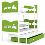 Купить кровать двухъярусную с выдвижным спальным местом!