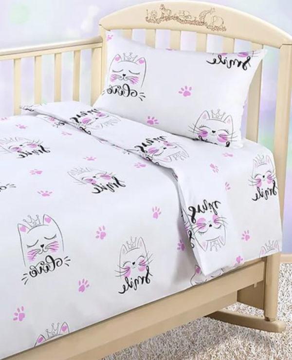 Детское постельное Китти в магазине Krowatki!