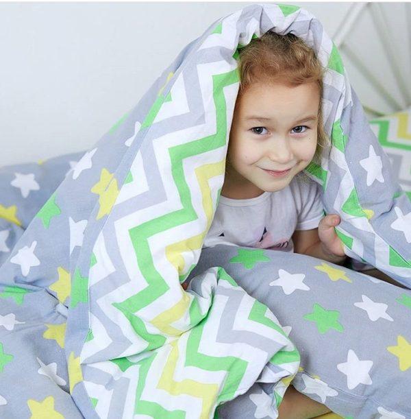 Детское постельное белье 160х80 Звёздочки