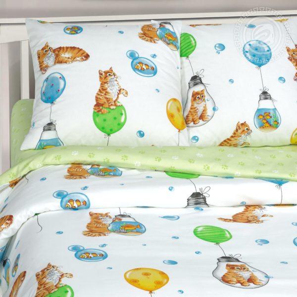 Детский комплект постельного белья 160х80