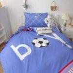Детское постельное футбол!