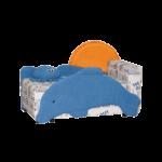 Диван кровать Дельфин на Кроватки.ру