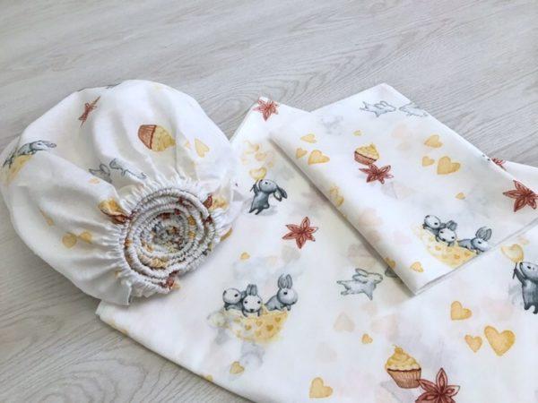 Купить детское постельное белье 80х160