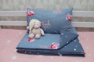 Постельное белье детское Фламинго