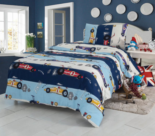 Детское постельное белье с Машинками