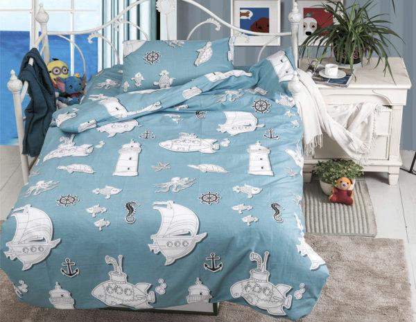 Детское постельное белье 1.5 спальное для мальчика