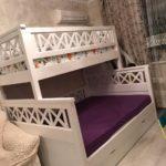 Детская двухъярусная кровать Прованс Люкс!