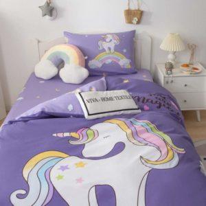 Детское постельное белье Единорожки